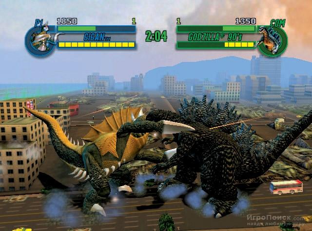 Скриншот к игре Godzilla: Save the Earth