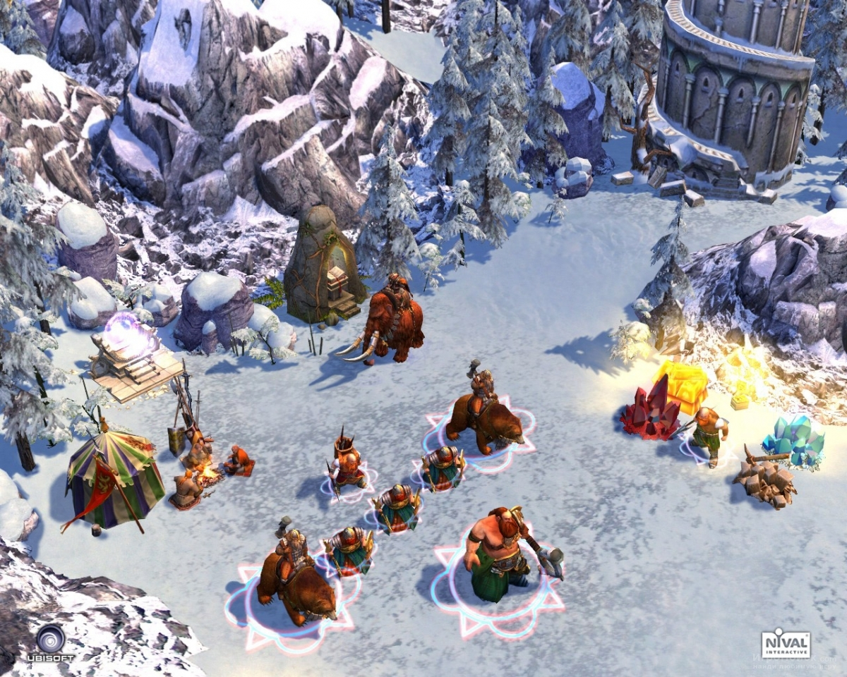Скриншот к игре Heroes of Might and Magic 5: Hammers of Fate