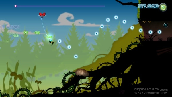 Скриншот к игре Alien Spidy