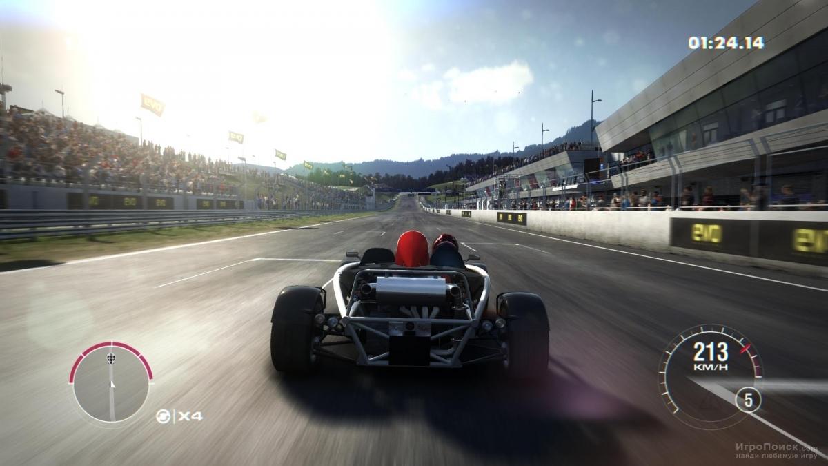 Скриншот к игре GRID 2