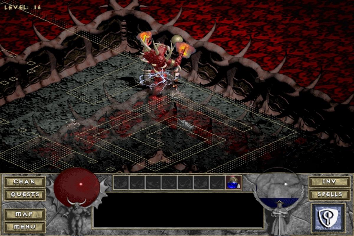 Скриншот к игре Diablo: Hellfire