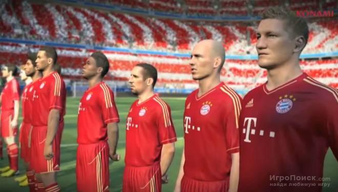 Скриншот к игре Pro Evolution Soccer 2014
