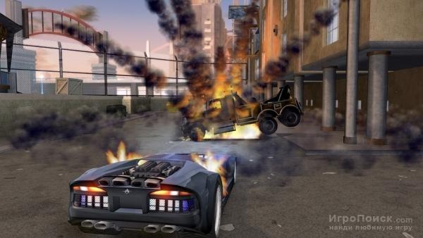 Скриншот к игре Crackdown