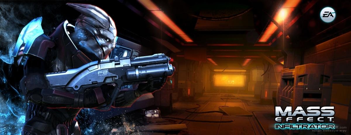 Скриншот к игре Mass Effect: Infiltrator