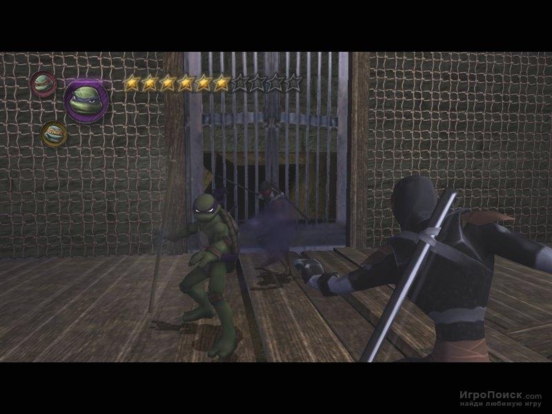 Скриншот к игре Teenage Mutant Ninja Turtles: Video Game