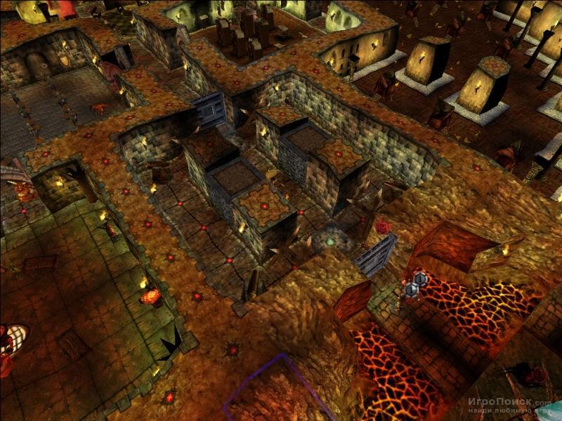 Скриншот к игре Dungeon Keeper 2