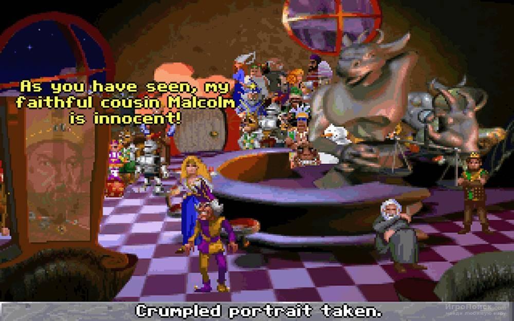 Скриншот к игре The Legend of Kyrandia: Book Three - Malcolm's Revenge