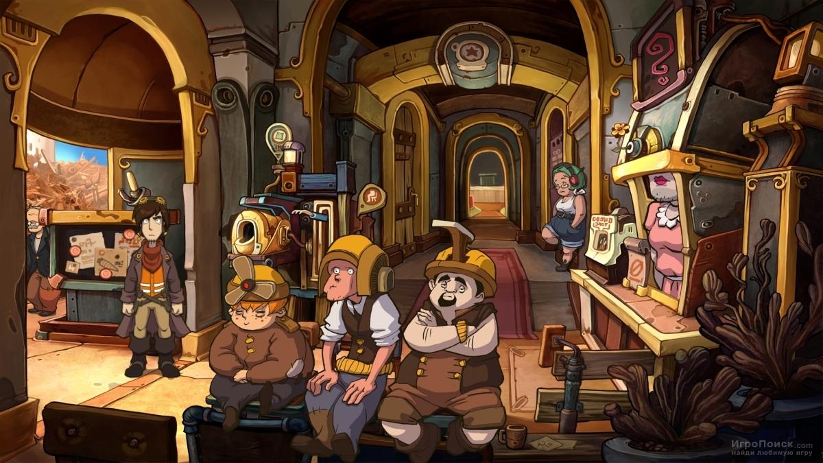 Скриншот к игре Deponia