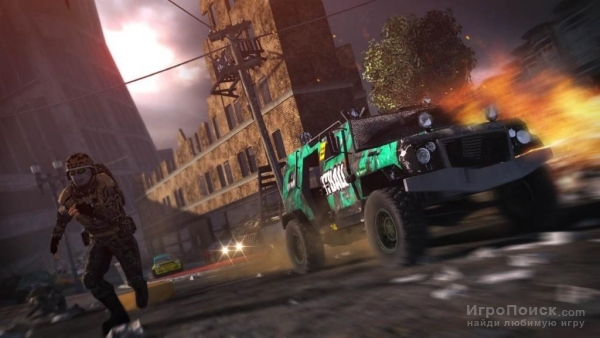 Скриншот к игре Motorstorm: Apocalypse