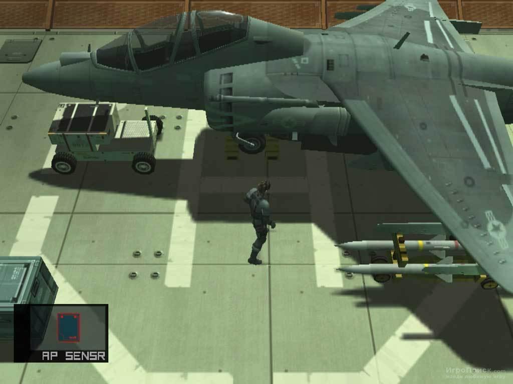 Скриншот к игре Metal Gear Solid 2: Substance