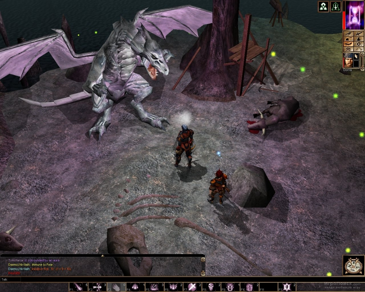 Скриншот к игре Neverwinter Nights: Shadows of Undrentide