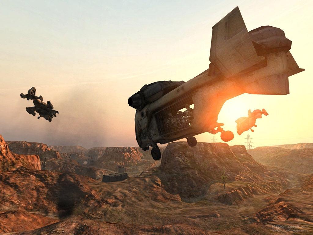 Скриншот к игре Enemy Territory: Quake Wars