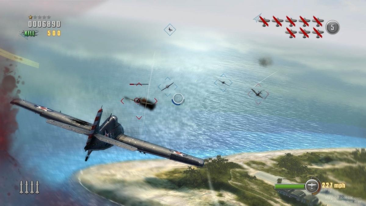 Скриншот к игре Dogfight 1942