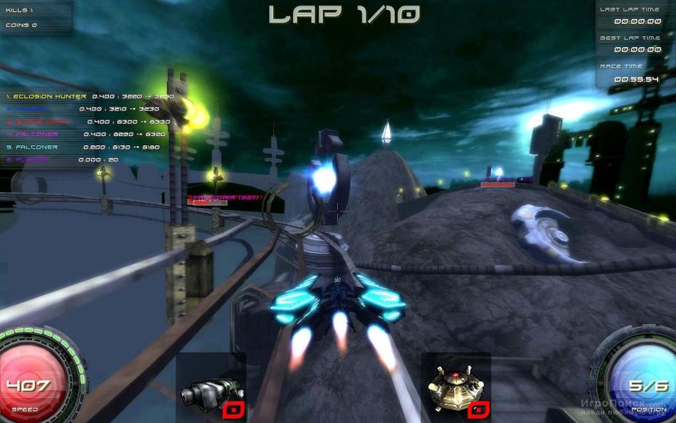 Скриншот к игре PyroBlazer