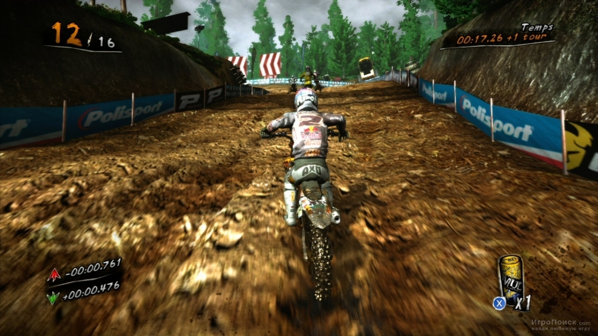 Скриншот к игре MUD - FIM Motocross World Championship
