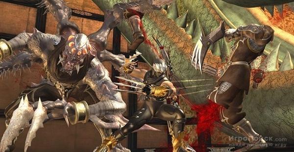 Скриншот к игре Ninja Gaiden II