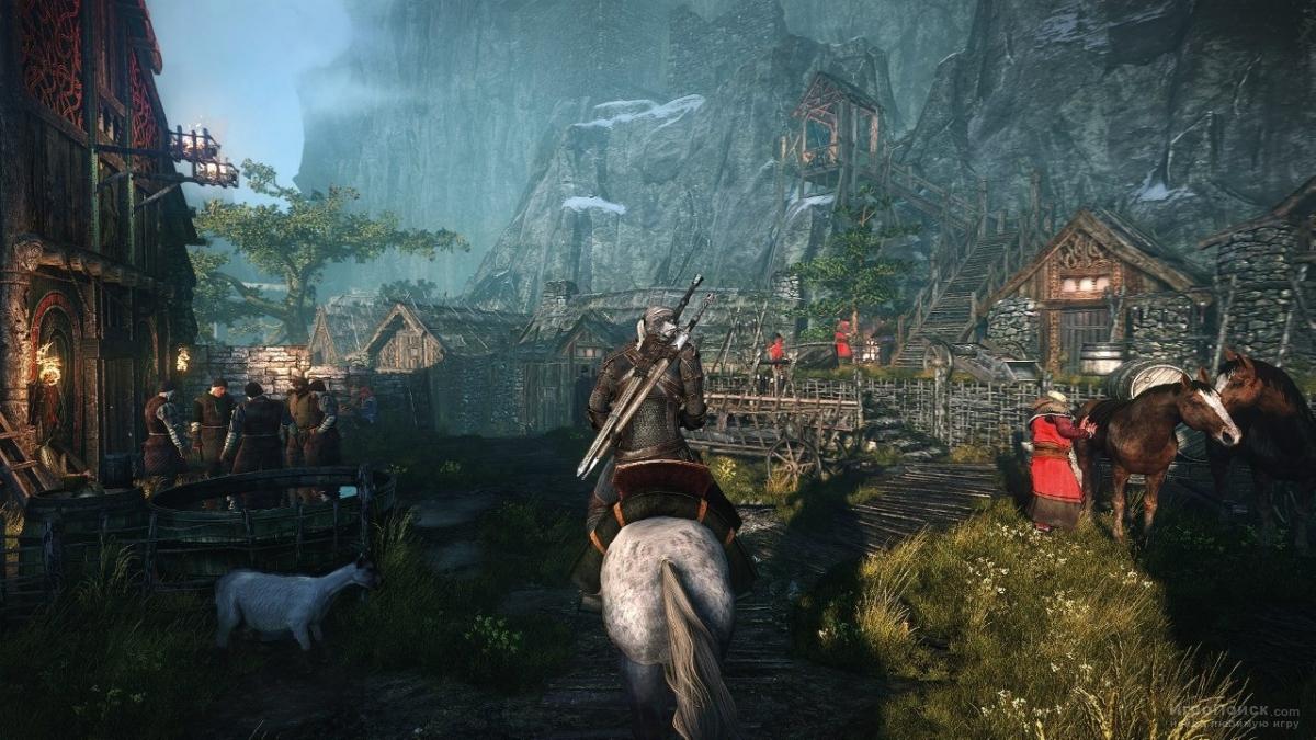 Скриншот к игре The Witcher 3: Wild Hunt