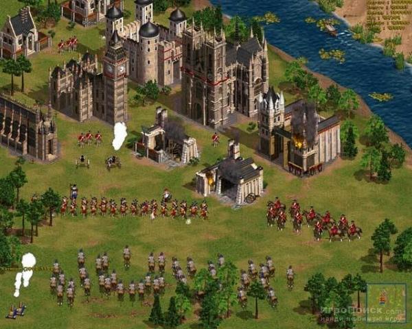 Скриншот к игре Cossacks: The Art of War