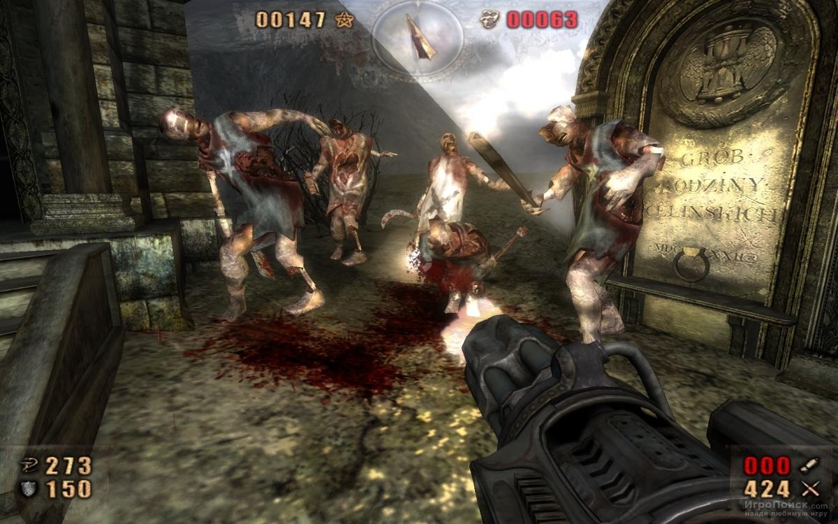 Скриншот к игре Painkiller: Resurrection