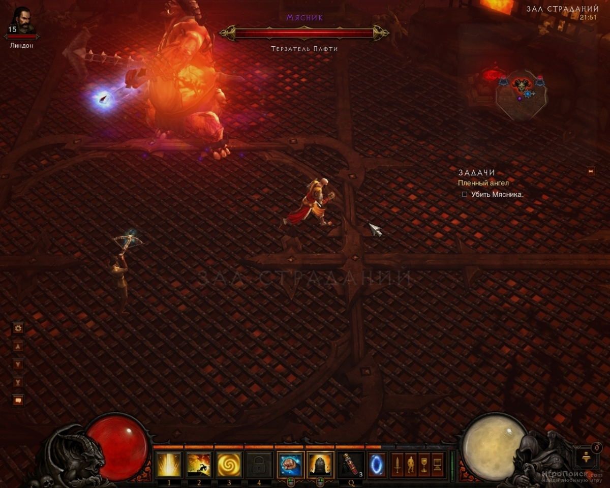 Скриншот к игре Diablo 3