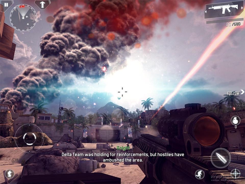 Скриншот к игре Modern Combat 4: Zero Hour