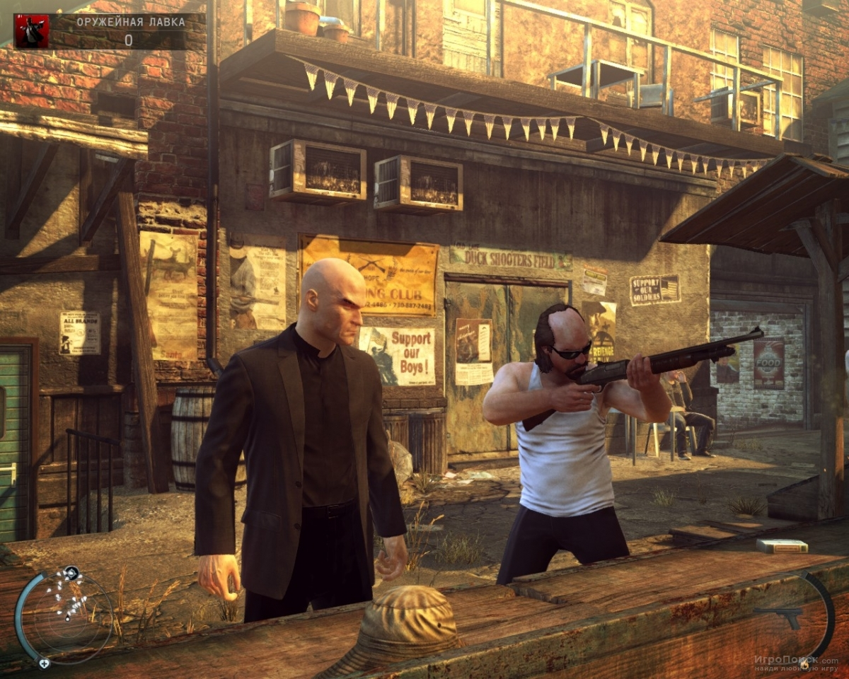 Скриншот к игре Hitman: Absolution