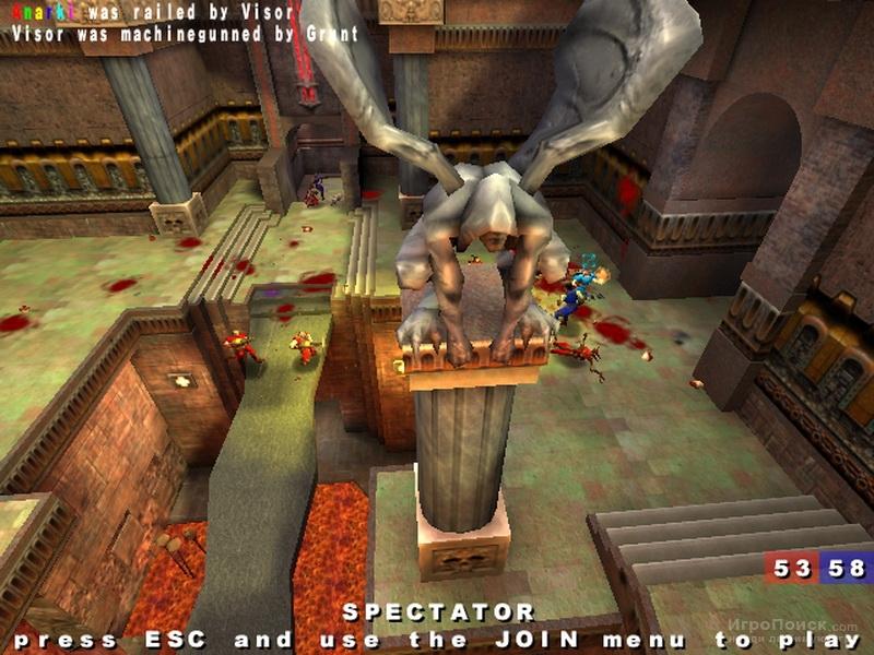 Скриншот к игре Quake III Arena