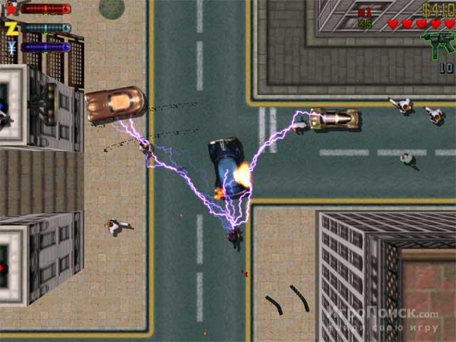 Скриншот к игре Grand Theft Auto 2