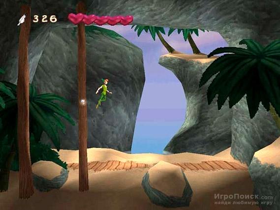 Скриншот к игре Disney's Peter Pan: Adventures in Never Land
