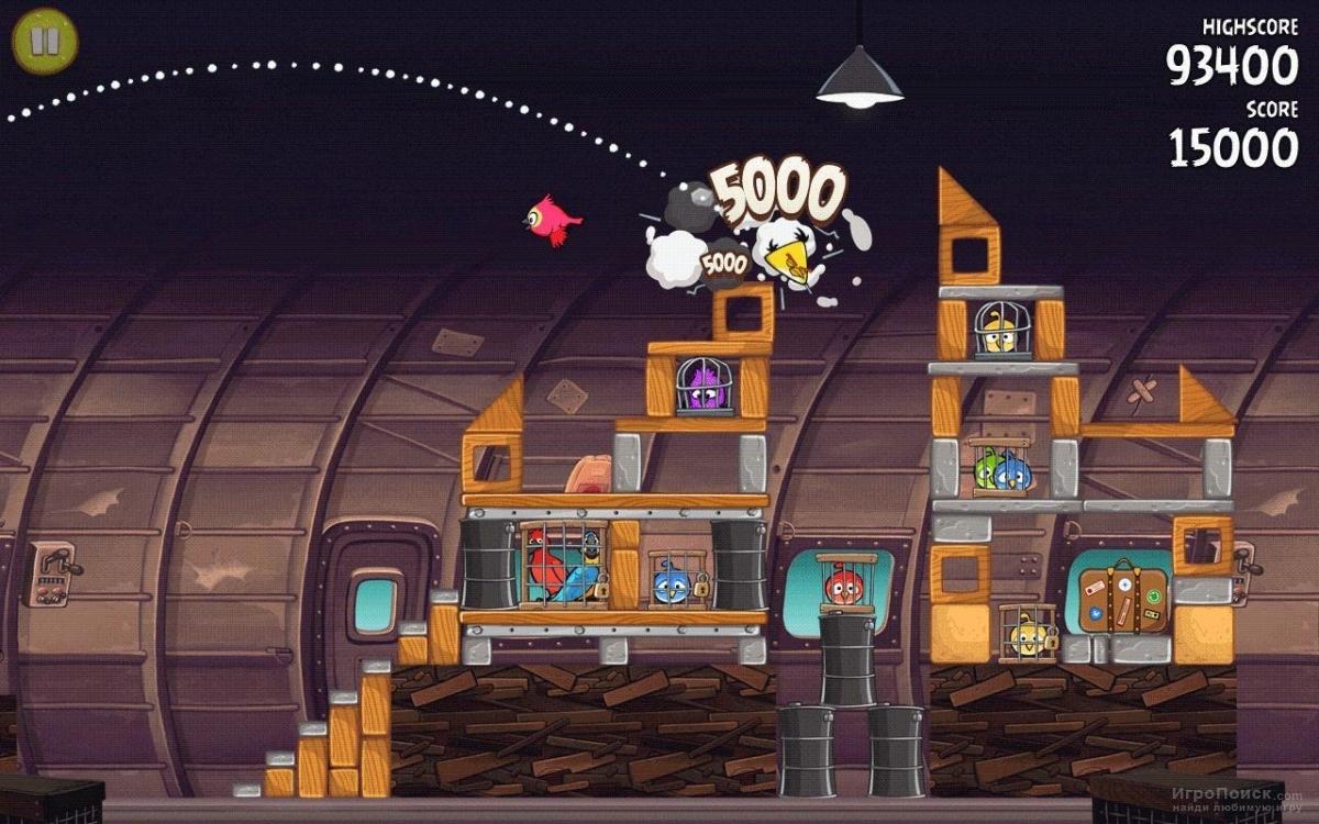 Скриншот к игре Angry Birds Rio