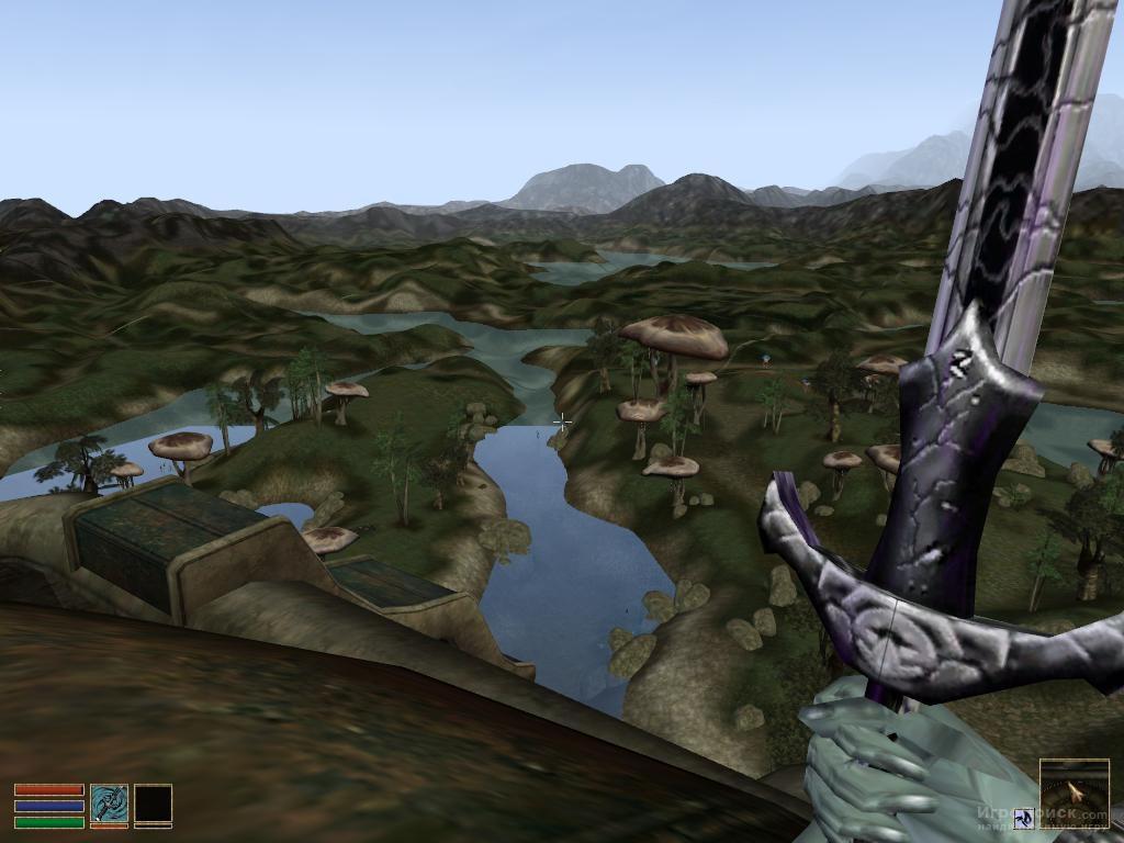 Скриншот к игре The Elder Scrolls 3: Morrowind