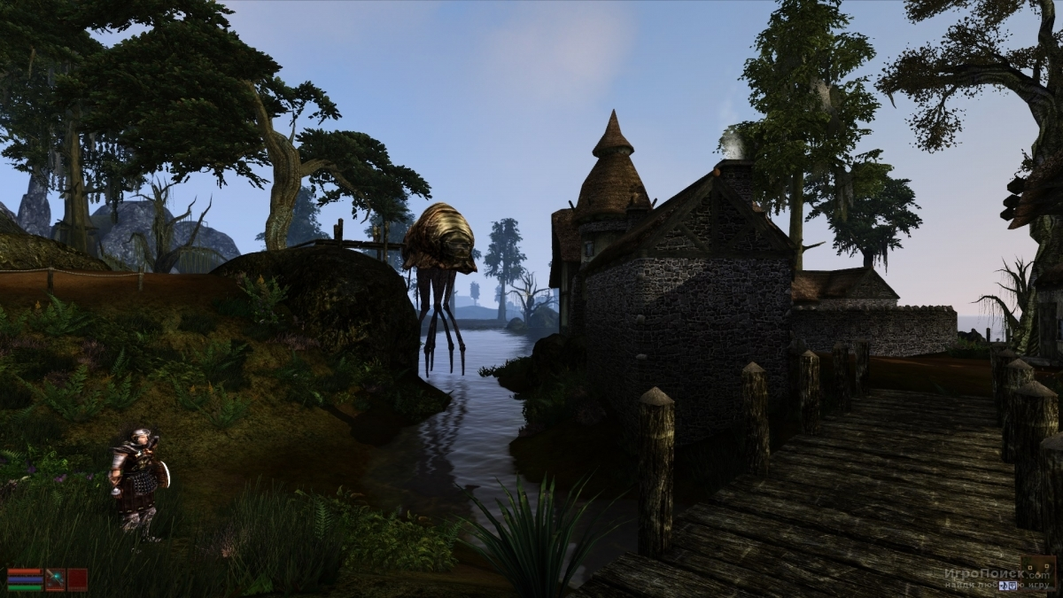 Скриншот к игре The Elder Scrolls III: Morrowind