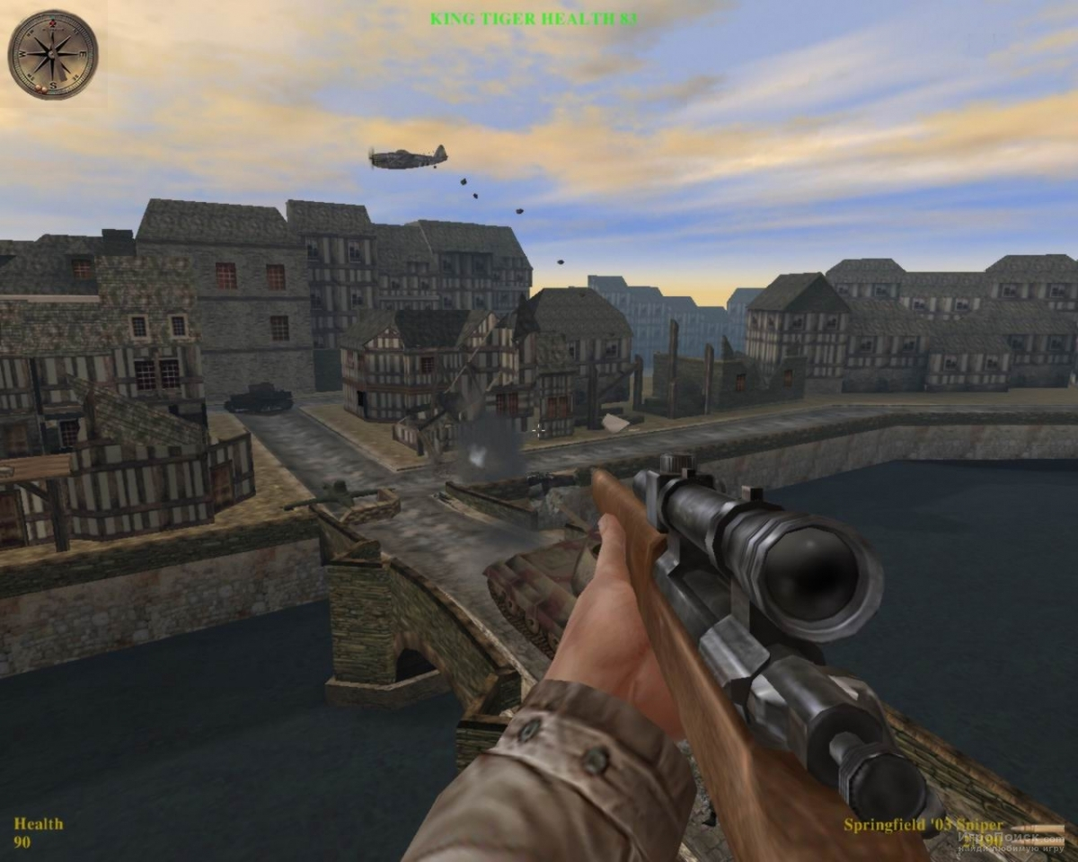 Скриншот к игре Medal of Honor: Allied Assault
