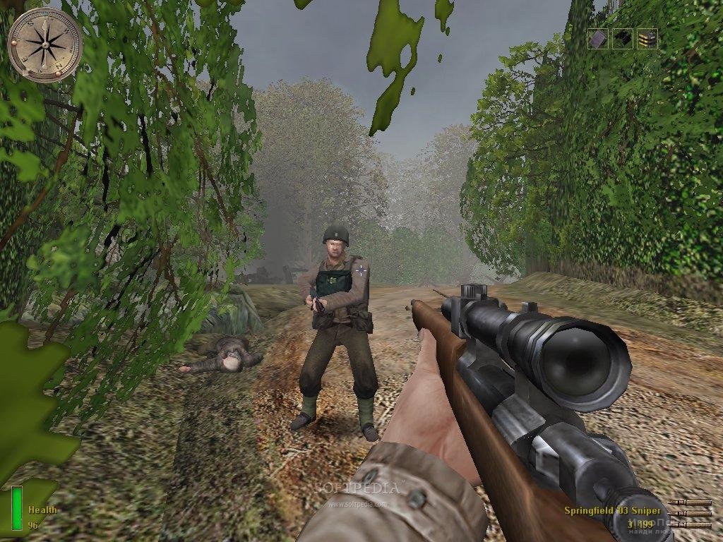 Скриншот к игре Medal of Honor: Allied Assault