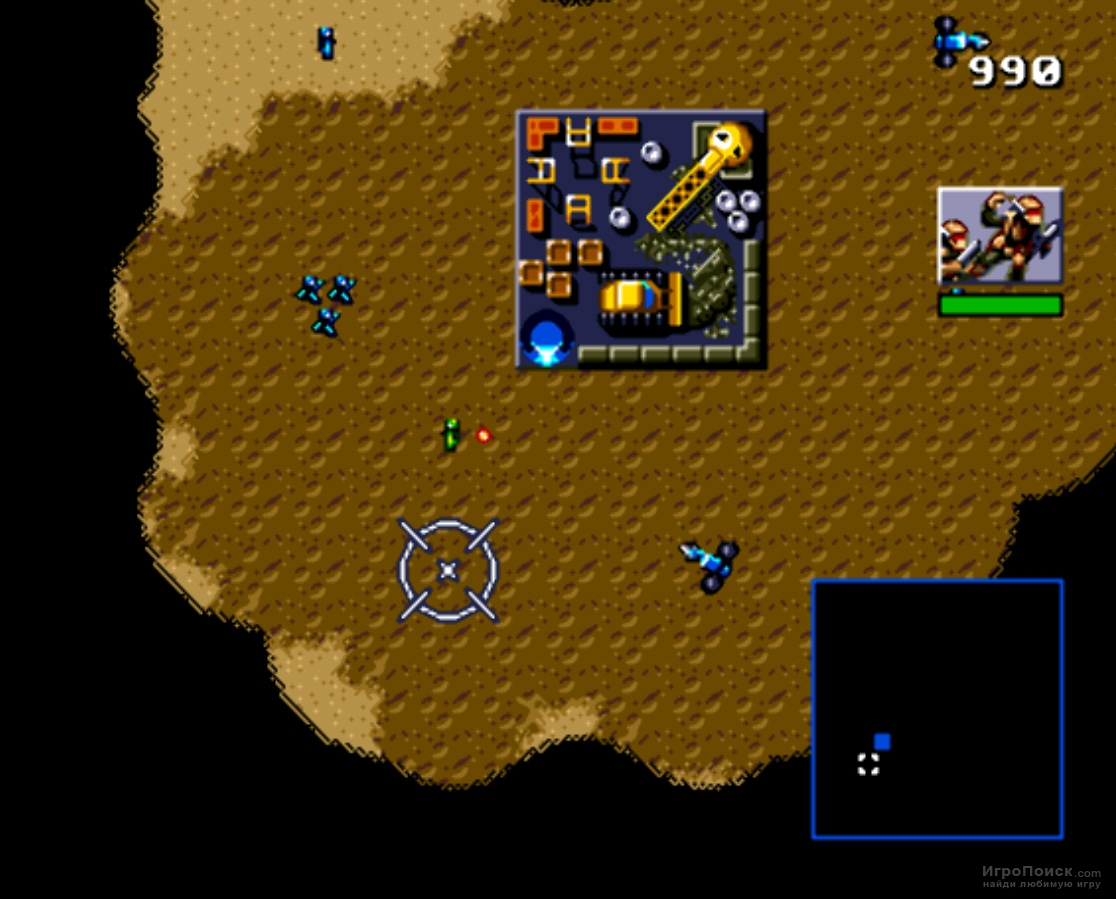 Скриншот к игре Dune II: Battle for Arrakis