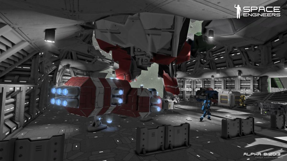 Скриншот к игре Space Engineers