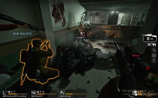 Скриншот к игре Left 4 Dead