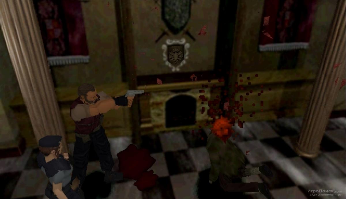 Скриншот к игре Resident Evil
