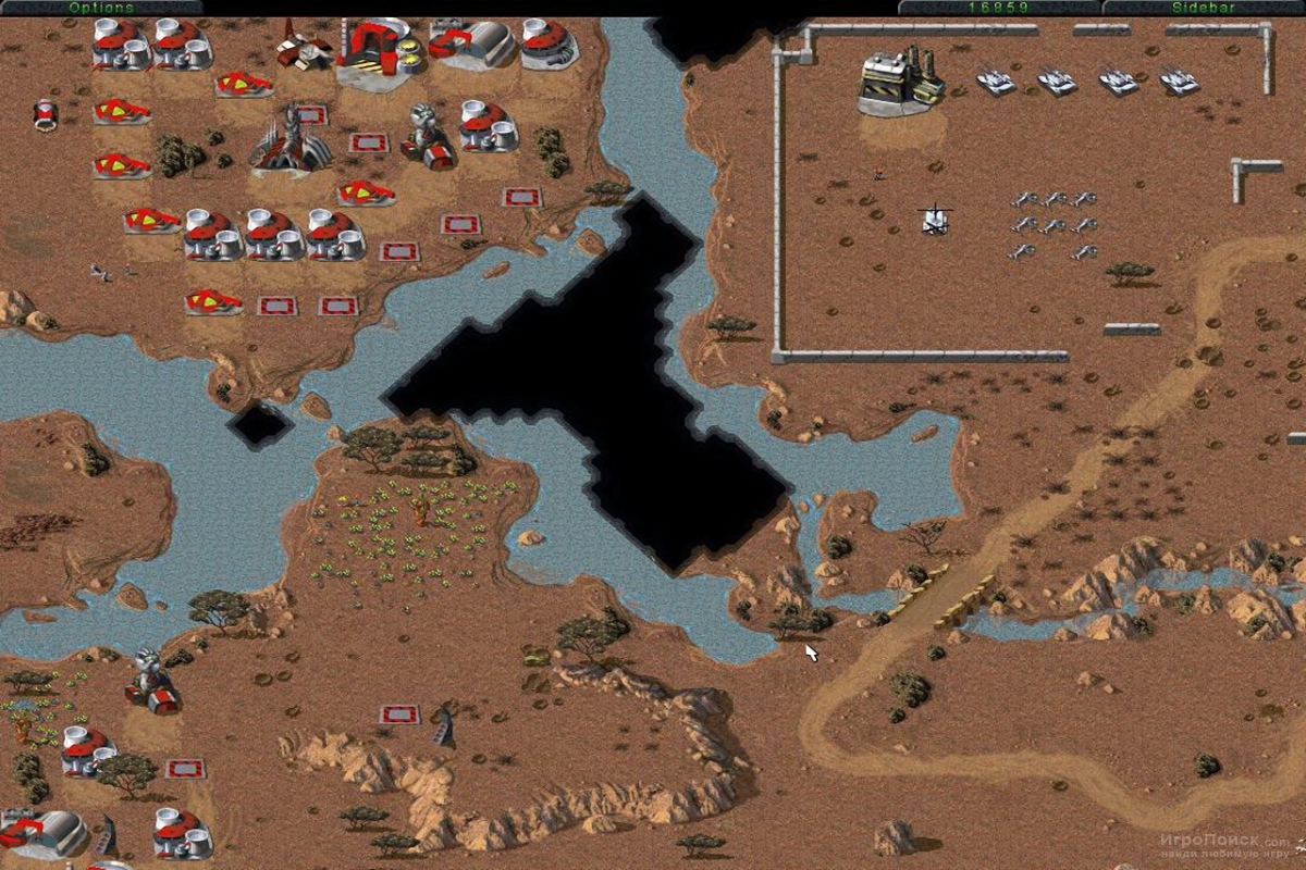 Скриншот к игре Command and Conquer: Tiberian Dawn