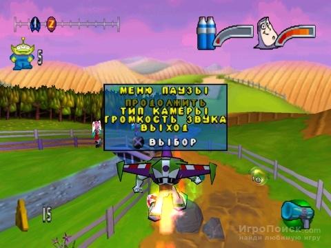 Скриншот к игре Disney-Pixar Buzz Lightyear of Star Command