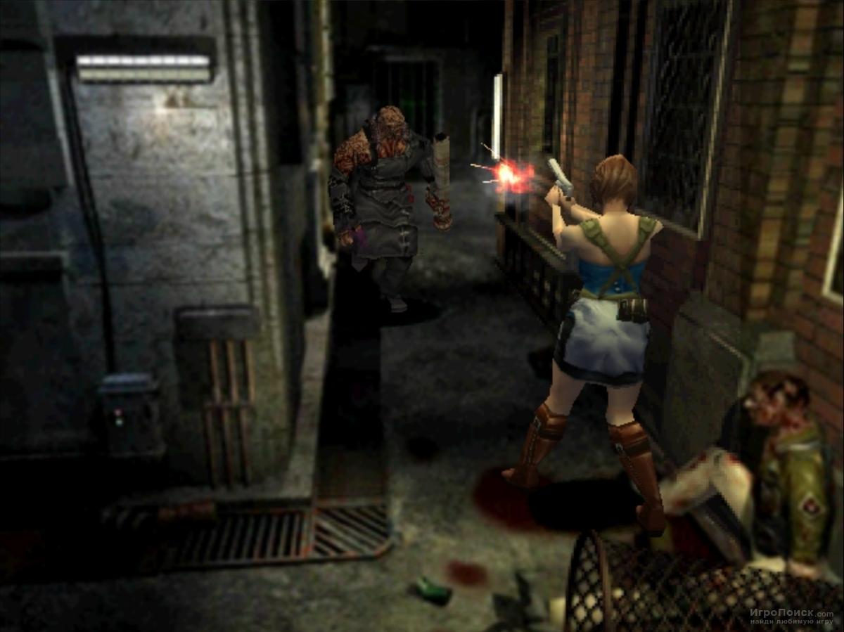 Скриншот к игре Resident Evil 3: Nemesis