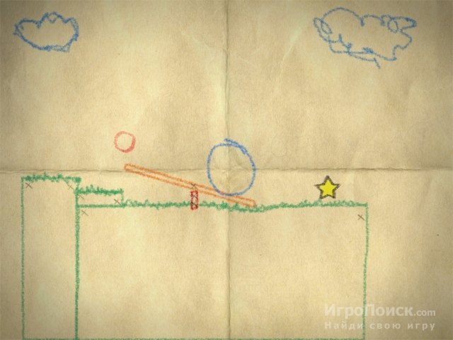 Скриншот к игре Crayon Physics Deluxe