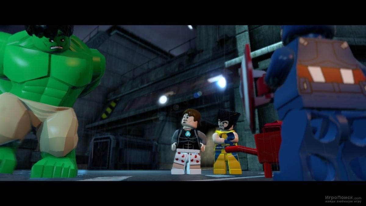Скриншот к игре LEGO Marvel Super Heroes
