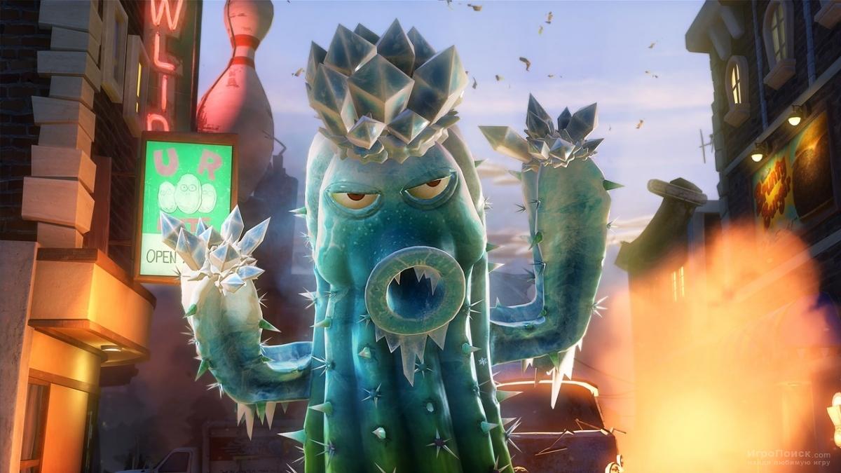 Скриншот к игре Plants vs Zombies: Garden Warfare