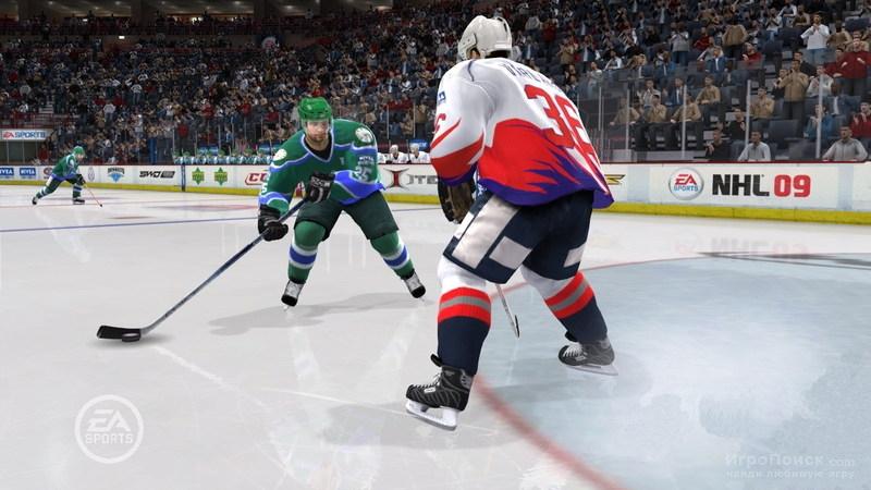 Скриншот к игре NHL 09