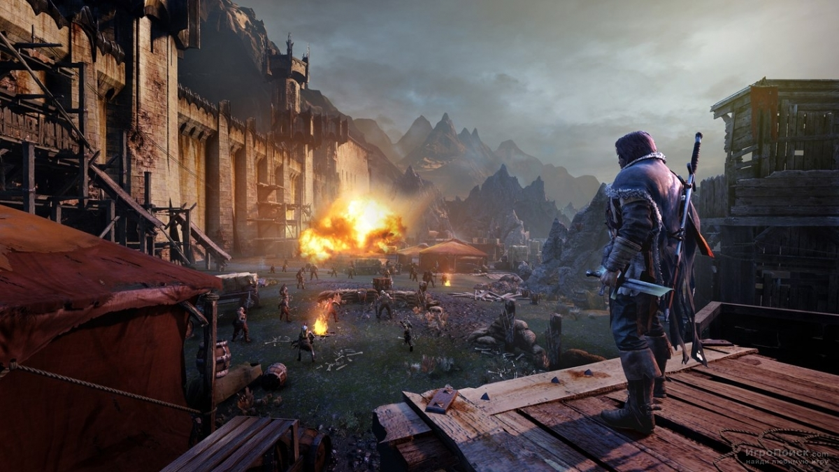Скриншот к игре Middle-earth: Shadow of Mordor