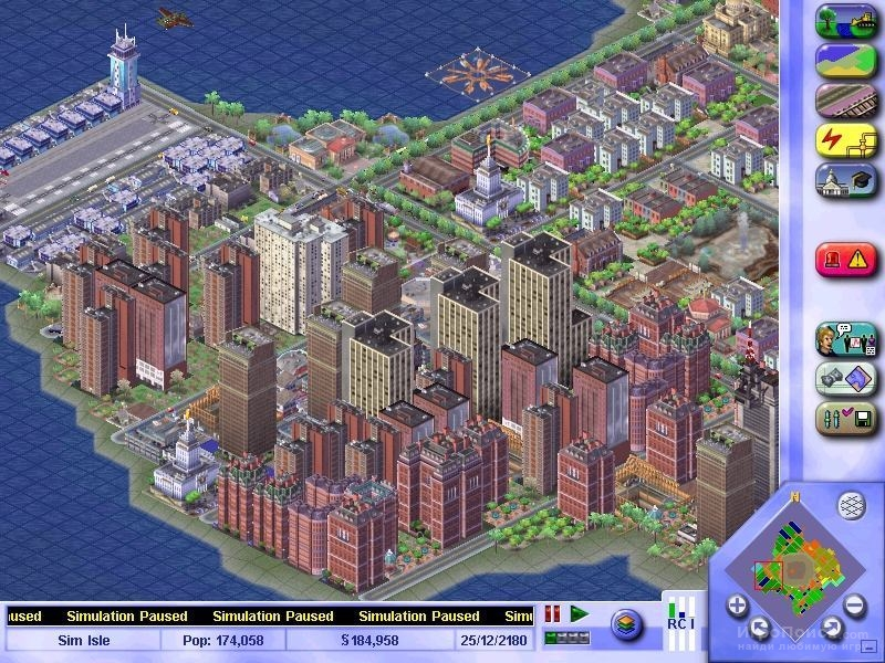 Скриншот к игре SimCity 3000