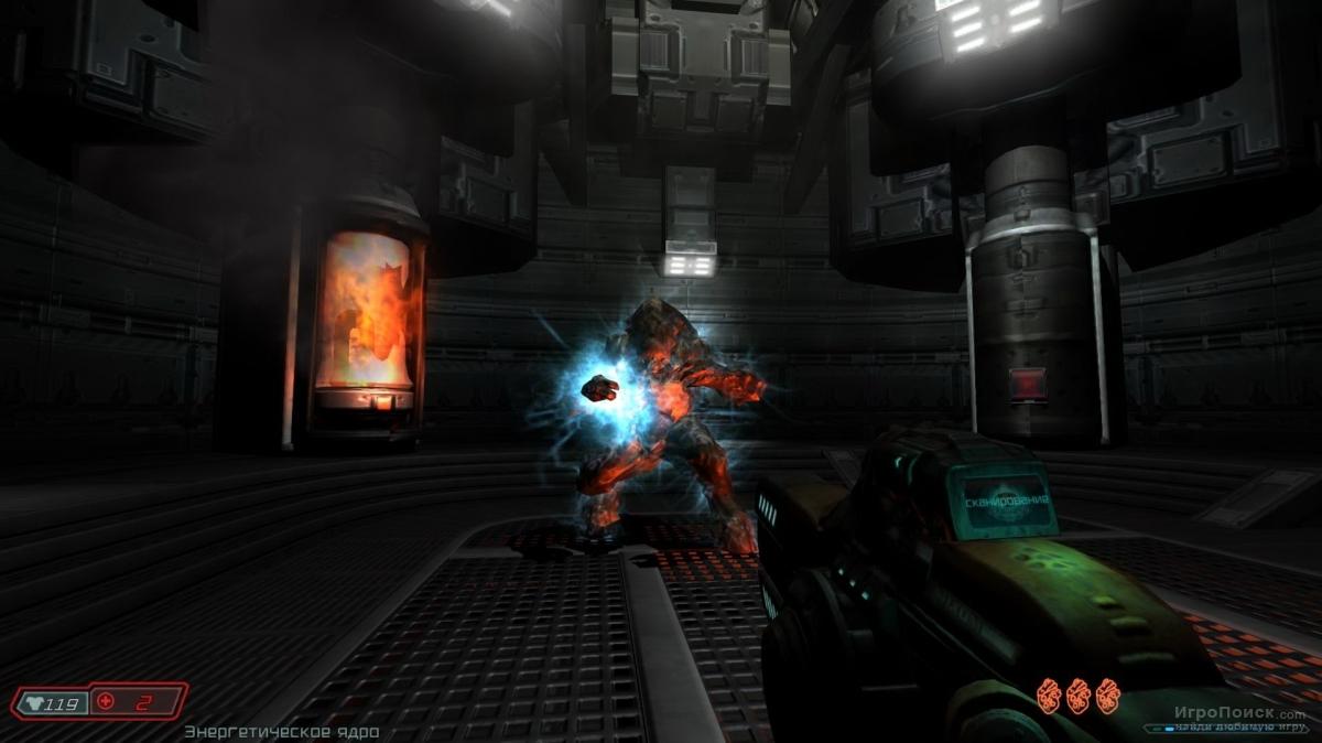 Скриншот к игре Doom 3: Resurrection of Evil