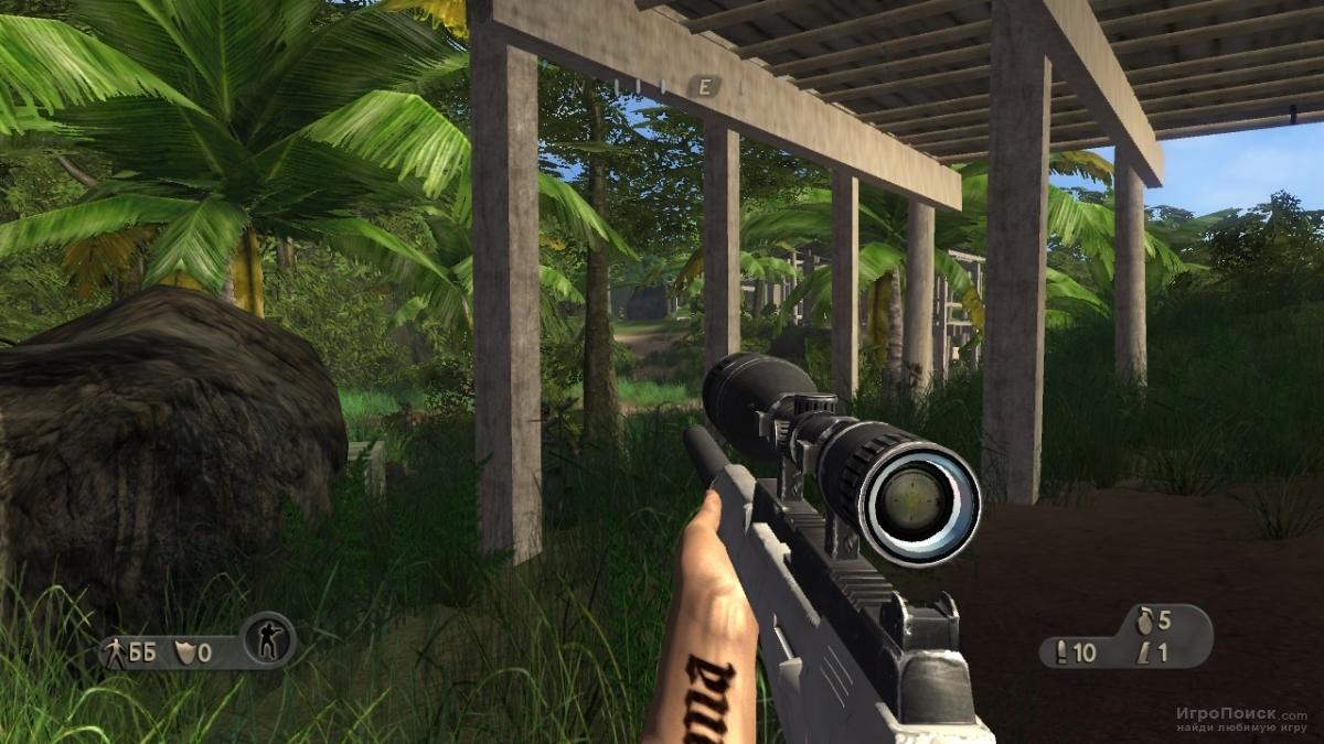 Скриншот к игре Far Cry Instincts