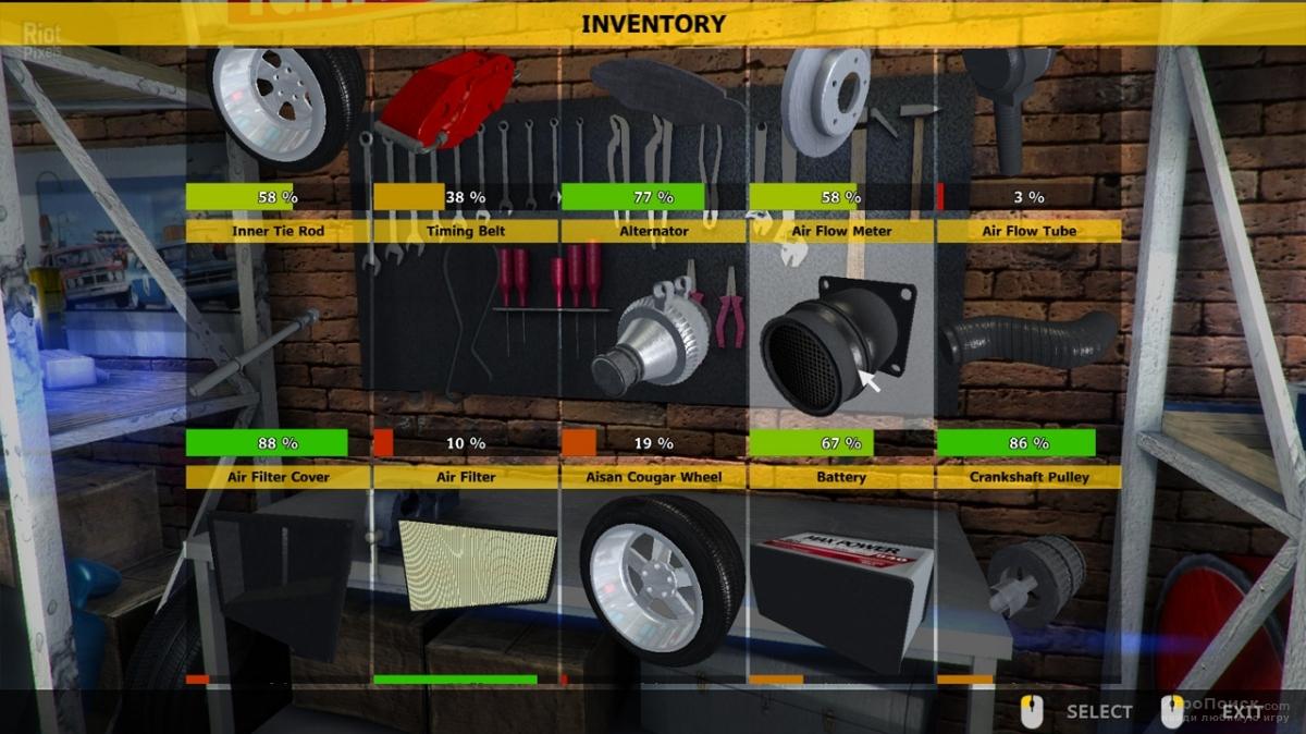 Скриншот к игре Car Mechanic Simulator 2014